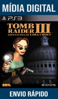 TOMB RAIDER 3 ADVENTURES OF LARA CROFT PS3 PSN MÍDIA DIGITAL