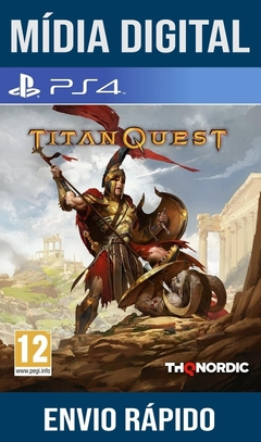 Titan Quest Ps4 Psn Original 1 Mídia Digital