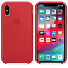 FUNDA SILICONE CASE IPHONE - RED