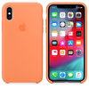 FUNDA SILICONE CASE IPHONE - PEACH