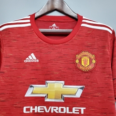 Camisa Manchester United Home 2020/2021 - Gold Sports