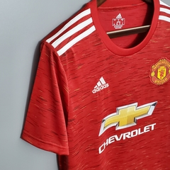 Camisa Manchester United Home 2020/2021 na internet