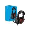 Headset Gamer Logitech Gaming G332 Preto/Vermelho Leatherette Ps4/Xbox One/Nintendo Switch P2 Estéreo - 981-000755