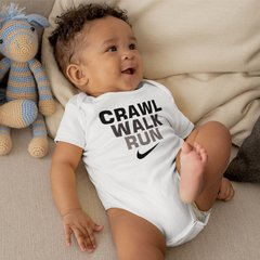 Body Bebê Nike Crawl Walk Run Modelo