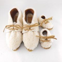 Image of Woman Nube Lace-up Slippers
