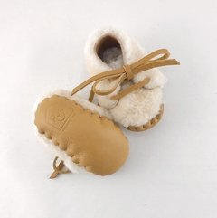 Baby Nube Lace-up Slippers - Puchero y León