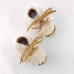 Baby Nube Lace-up Slippers