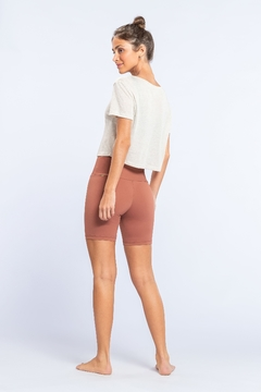 Blusa Ásana Modal Eco - Natural - The Fit Brand