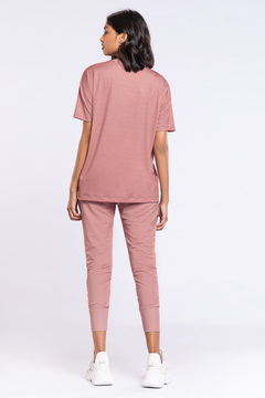 Jogger Jogger Comfy Antiviral - Rose - The Fit Brand