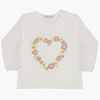 5839N Remera corazon natural 0-6