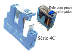 Rele Modular de Interface 1 Contato 16A Finder 4C.01