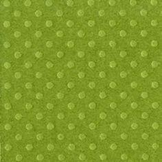 Papel Cardstock Bazzill - Dotted Swiss Irish Eyes
