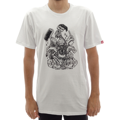 Camiseta Element X Timber Hands White