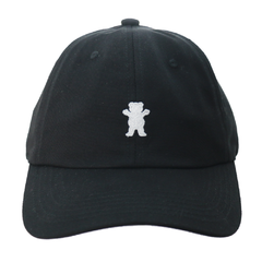 Boné Grizzly Logo Mini Dad Hat Black