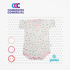 "BODY ""GAMISE"" ESTAMPADO  MANGA CORTA MAGIC KIDS NENA TALLE 5-7 - CORRIENTES COMERCIAL"