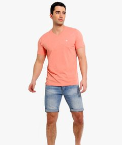 Camiseta masculina Abercrombie & Fitch Basic-V ORG - comprar online