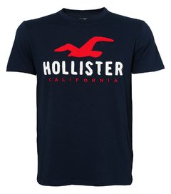 Camiseta masculina Hollister Quicker IV