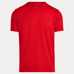 Camiseta masculina P0L0 R4LPH L4UREN Basic Red - Closety