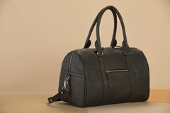 Travel Bag Maternal Bag Work Bag in Pineapple Leather Pinatex by Numero 52