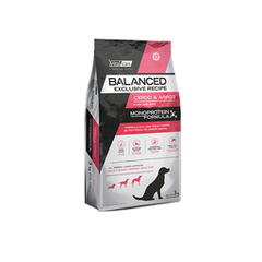 VITAL BALANCED EXCLUSIVE CERDO Y ARROZ 3KG