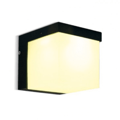 Artef. LED 5W p/pared IP54