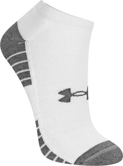 Kit Meia Under Armour Sem Cano HeatGear Tech 3 Pares - comprar online