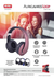 Auricular Vincha Bluetooth Kab138 602 Compatible Tv Smart - comprar online