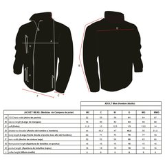 Campera Jacket Full Zipper Cardon - comprar online