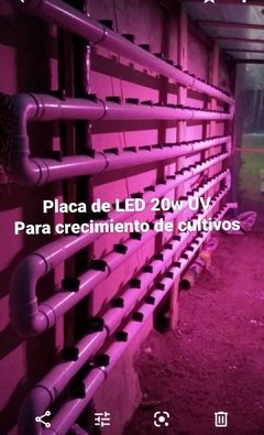 Placa de LED SM 2835  UV- 20W - comprar online