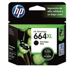 CARTUCHO HP 664 XL NEGRO ORIGINAL