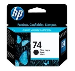 CARTUCHO HP 74 NEGRO ORIGINAL