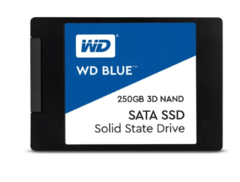 DISCO DURO ESTADO SOLIDO SSD WD BLUE 250GB
