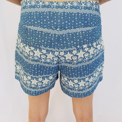 SHORTS FUNDO DO MAR - D1 Look