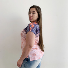BLUSA ESTAMPADA m27 - D1 Look