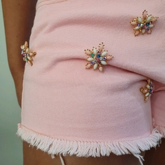SHORTS COLOR BROCHES - D1 Look