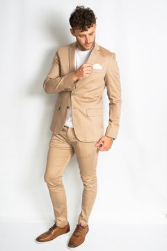 Chino TORONTO Slim fit Beige - Mr Otto