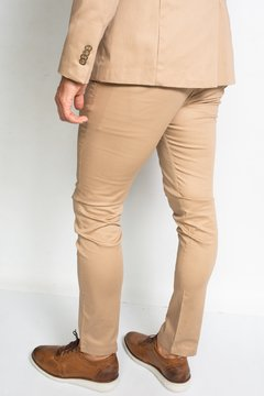 Chino TORONTO Slim fit Beige en internet