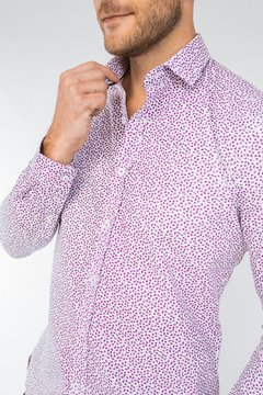Camisa LUKE Slim Fit Bordó