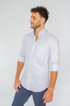 Camisa WILLIAM, corte Regular Celeste