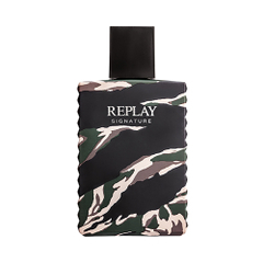 REPLAY SIGNATURE EDT FOR MAN X100ML.