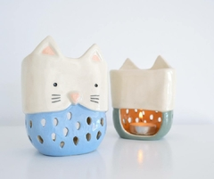 Hornito Gatito color celeste - Chirola cool things