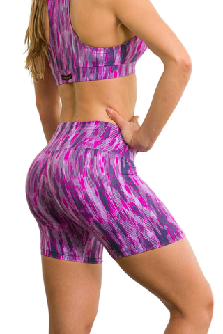 Bermuda Fitness Feminina Estampada RPC Up