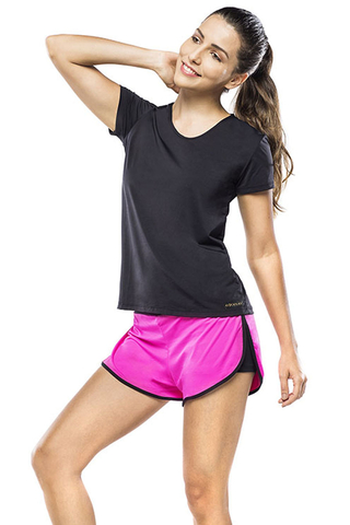 Shorts Fitness Feminino Pink Advance