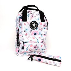 Set Mochila + Cartuchera estampada - Lovely
