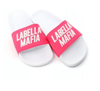 CHINELO LABELLAMAFIA SLIDE ROSA