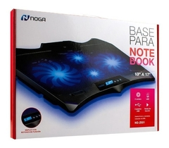 Base Para Notebook Noga Ng-z031 / 13 A 17 /4 Cooler Display Usb