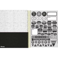 PLANNER BACK TO BLACK - PERMANENTE - FORONI - loja online