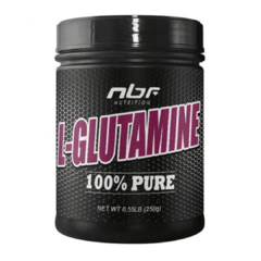 L-GLUTAMINE 100% PURE (250G) - NBF NUTRITION