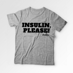 Camiseta Biabética - Insulin Please na internet