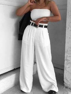 PANTALONA BASIC LIZ WHITE